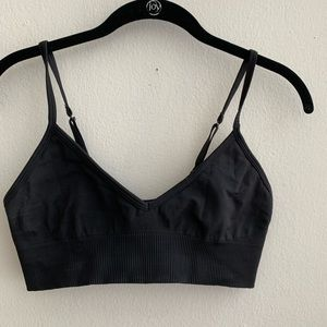Lululemon Black Ebb to Street Bra Size 8